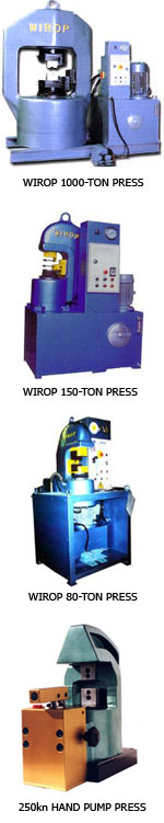 Splicing & Swaging Presses
