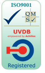 R&G Marine & Industrial Services is ISO9001 and UVDB registered